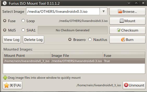ubuntu furius-iso-mount-tools 镜像 挂载