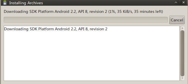 Android SDK Ubuntu